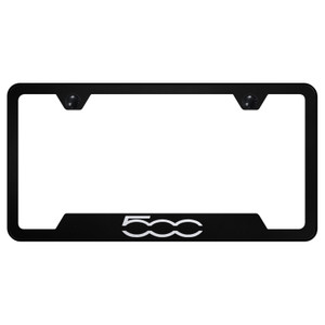 Au-TOMOTIVE GOLD | License Plate Covers and Frames | Fiat 500 | AUGD8386