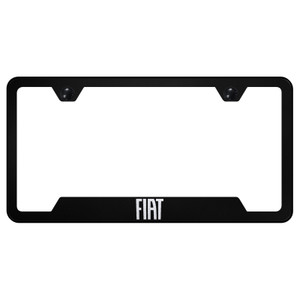 Au-TOMOTIVE GOLD | License Plate Covers and Frames | Fiat | AUGD8390