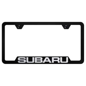 Au-TOMOTIVE GOLD | License Plate Covers and Frames | Subaru | AUGD8397