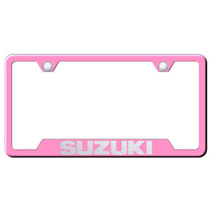 Au-TOMOTIVE GOLD | License Plate Covers and Frames | Suzuki | AUGD8399