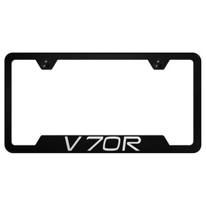 Au-TOMOTIVE GOLD | License Plate Covers and Frames | Volvo V70 | AUGD8406