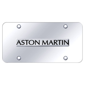 Au-TOMOTIVE GOLD | License Plate Covers and Frames | Aston Martin | AUGD8427