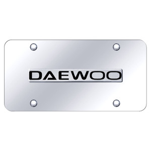 Au-TOMOTIVE GOLD | License Plate Covers and Frames | Daewoo | AUGD8433