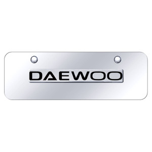 Au-TOMOTIVE GOLD | License Plate Covers and Frames | Daewoo | AUGD8434