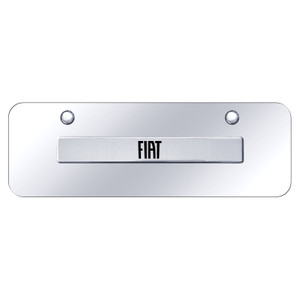Au-TOMOTIVE GOLD | License Plate Covers and Frames | Fiat | AUGD8446