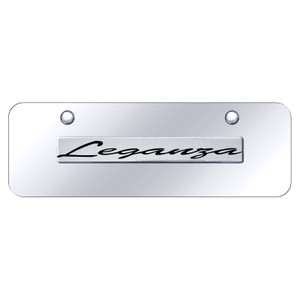 Au-TOMOTIVE GOLD | License Plate Covers and Frames | Daewoo Leganza | AUGD8466