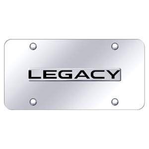 Au-TOMOTIVE GOLD | License Plate Covers and Frames | Subaru Legacy | AUGD8467