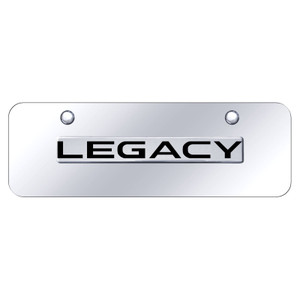 Au-TOMOTIVE GOLD | License Plate Covers and Frames | Subaru Legacy | AUGD8468