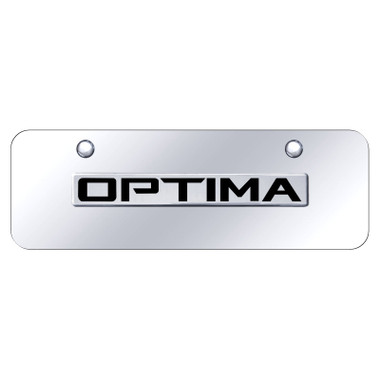 Au-TOMOTIVE GOLD | License Plate Covers and Frames | Kia Optima | AUGD8478
