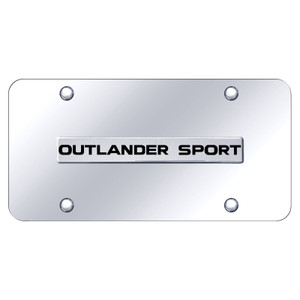 Au-TOMOTIVE GOLD | License Plate Covers and Frames | Mitsubishi Outlander | AUGD8480