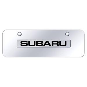 Au-TOMOTIVE GOLD | License Plate Covers and Frames | Subaru | AUGD8499
