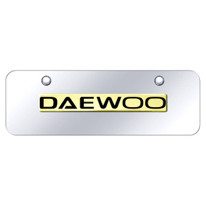 Au-TOMOTIVE GOLD | License Plate Covers and Frames | Daewoo | AUGD8525
