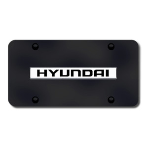 Au-TOMOTIVE GOLD | License Plate Covers and Frames | Hyundai | AUGD8539