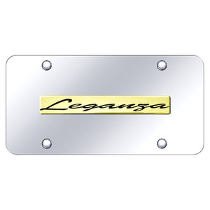 Au-TOMOTIVE GOLD | License Plate Covers and Frames | Daewoo Leganza | AUGD8549