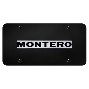 Au-TOMOTIVE GOLD | License Plate Covers and Frames | Mitsubishi Montero | AUGD8554