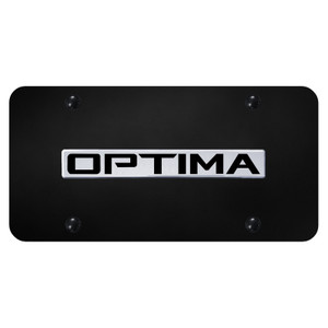 Au-TOMOTIVE GOLD | License Plate Covers and Frames | Kia Optima | AUGD8559