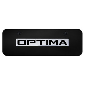 Au-TOMOTIVE GOLD | License Plate Covers and Frames | Kia Optima | AUGD8560