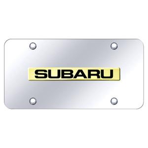 Au-TOMOTIVE GOLD | License Plate Covers and Frames | Subaru | AUGD8582