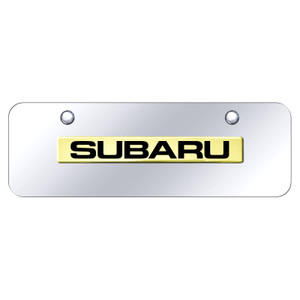 Au-TOMOTIVE GOLD | License Plate Covers and Frames | Subaru | AUGD8583