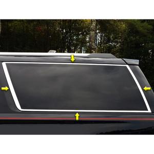 Luxury FX | Window Trim | 15-17 Chevrolet Suburban | LUXFX3481