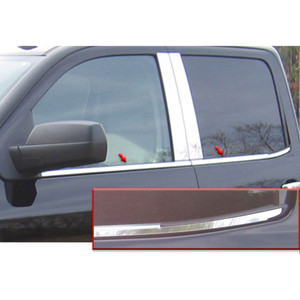 Luxury FX | Window Trim | 14-17 Chevrolet Silverado 1500 | LUXFX3482