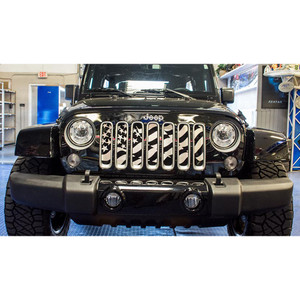 American Car Craft | Grille Overlays and Inserts | 07_17 Jeep Wrangler | ACC3458
