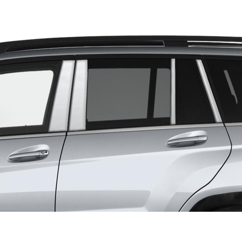 8pc Luxury FX Pillar Post Trim for 2011-2013 Infiniti QX56