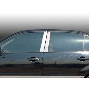Luxury FX | Pillar Post Covers and Trim | 04-07 Chevrolet Malibu | LUXFX3519