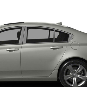 Auto Reflections | Pillar Post Covers and Trim | 09-14 Acura TL | SRF0061