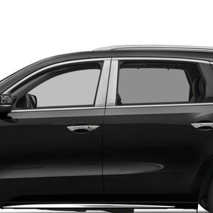 Auto Reflections 6pc Stainless Steel Pillar Post Covers for 2019 Acura RDX