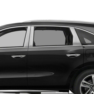Auto Reflections   Pillar Post Covers and Trim   14-18 Acura MDX   SRF0065