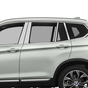 Auto Reflections | Pillar Post Covers and Trim | 11-18 BMW X3 | SRF0110