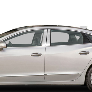 Auto Reflections   Pillar Post Covers and Trim   17-18 Buick LaCrosse   SRF0120