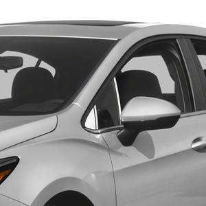 2017-2019 Chevy Cruze Hatchback 10Pc Chrome Pillar Post Stainless Steel Trim