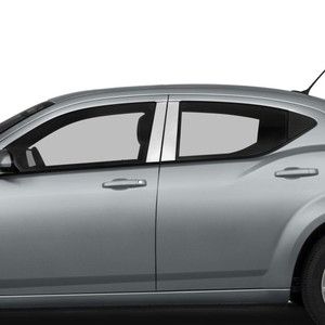 Auto Reflections | Pillar Post Covers and Trim | 08-14 Dodge Avenger | SRF0260