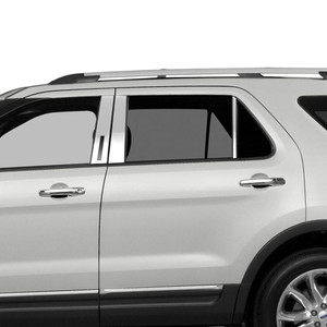 Auto Reflections | Pillar Post Covers and Trim | 11-18 Ford Explorer | SRF0294