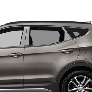 Auto Reflections | Pillar Post Covers and Trim | 13-18 Hyundai Santa Fe | SRF0372