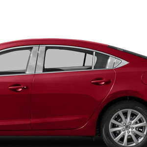 Auto Reflections | Pillar Post Covers and Trim | 14-18 Mazda 6 | SRF0530