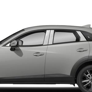 Auto Reflections | Pillar Post Covers and Trim | 16-18 Mazda CX-3 | SRF0541