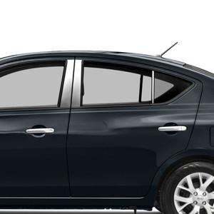 Auto Reflections | Pillar Post Covers and Trim | 12-18 Nissan Versa | SRF0613