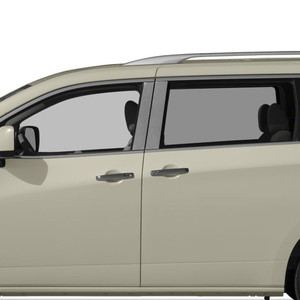 Auto Reflections | Pillar Post Covers and Trim | 11-16 Nissan Quest | SRF0618