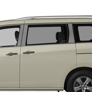 Auto Reflections | Pillar Post Covers and Trim | 11-16 Nissan Quest | SRF0619