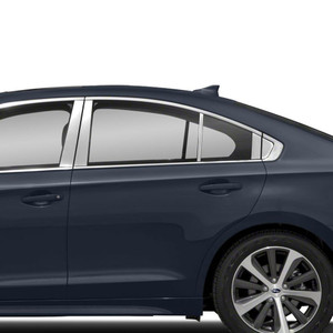 Auto Reflections | Pillar Post Covers and Trim | 15-18 Subaru Legacy | SRF0642