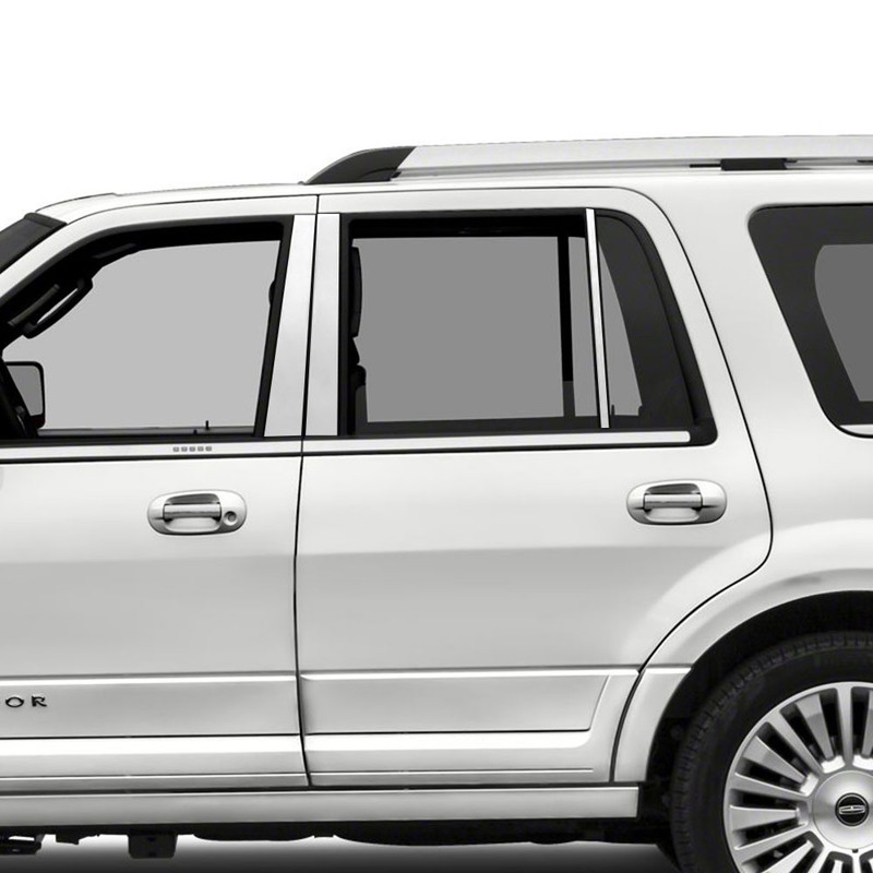 Diamond Grade 6pc Pillar Post Covers for 1997-2017 Lincoln Navigator