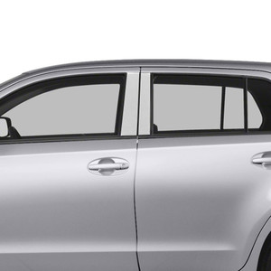 Auto Reflections | Pillar Post Covers and Trim | 08-14 Scion xD | SRF0670