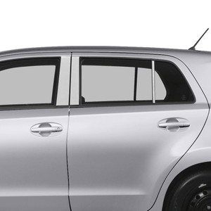 Auto Reflections | Pillar Post Covers and Trim | 08-14 Scion xD | SRF0671