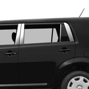 Auto Reflections | Pillar Post Covers and Trim | 08-15 Scion xB | SRF0677
