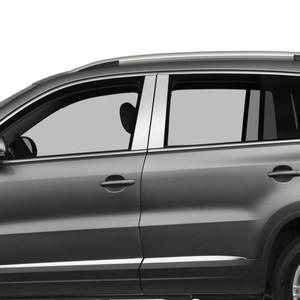 Auto Reflections   Pillar Post Covers and Trim   09-18 Volkswagen Tiguan   SRF0694