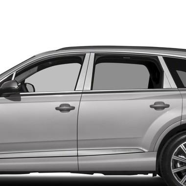 Diamond Grade | Pillar Post Covers and Trim | 07-18 Audi Q7 | SRF0081