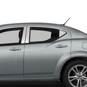 Diamond Grade | Pillar Post Covers and Trim | 08-14 Dodge Avenger | SRF0261